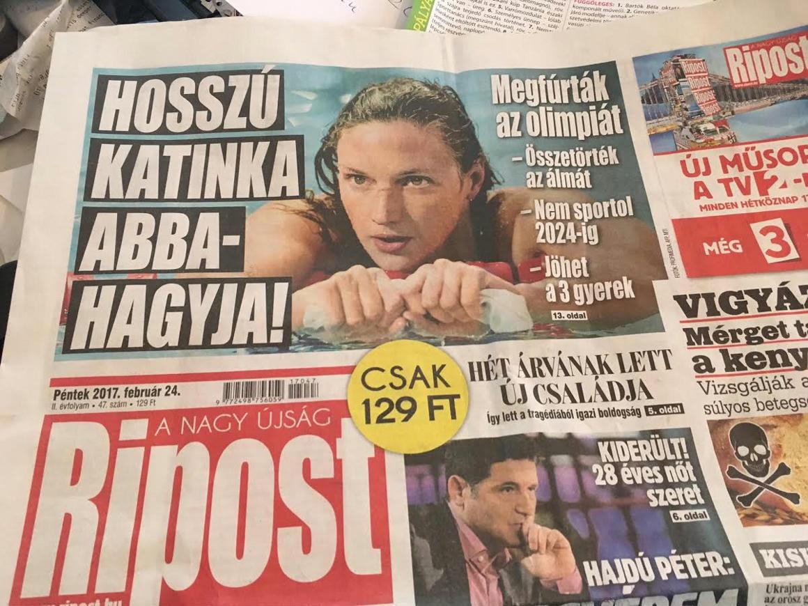 28d29ea1ef A Ripost ezzel a riogatással állt elő pár nappal azután, hogy Orbán Viktor  visszavonatta Budapest olimpiai pályázatát, mert megijedt a Momentumtól.  Azt az ...
