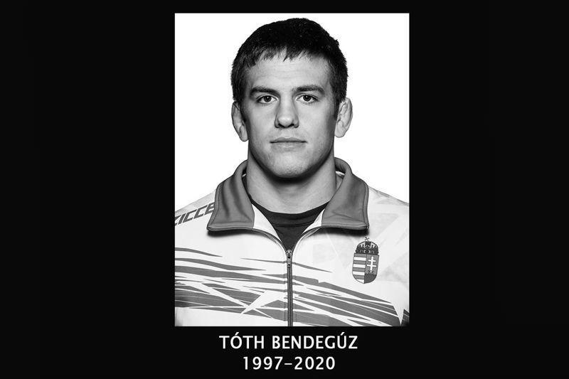 Edzés közben meghalt Tóth Bendegúz 22 éves válogatott birkózó - 444