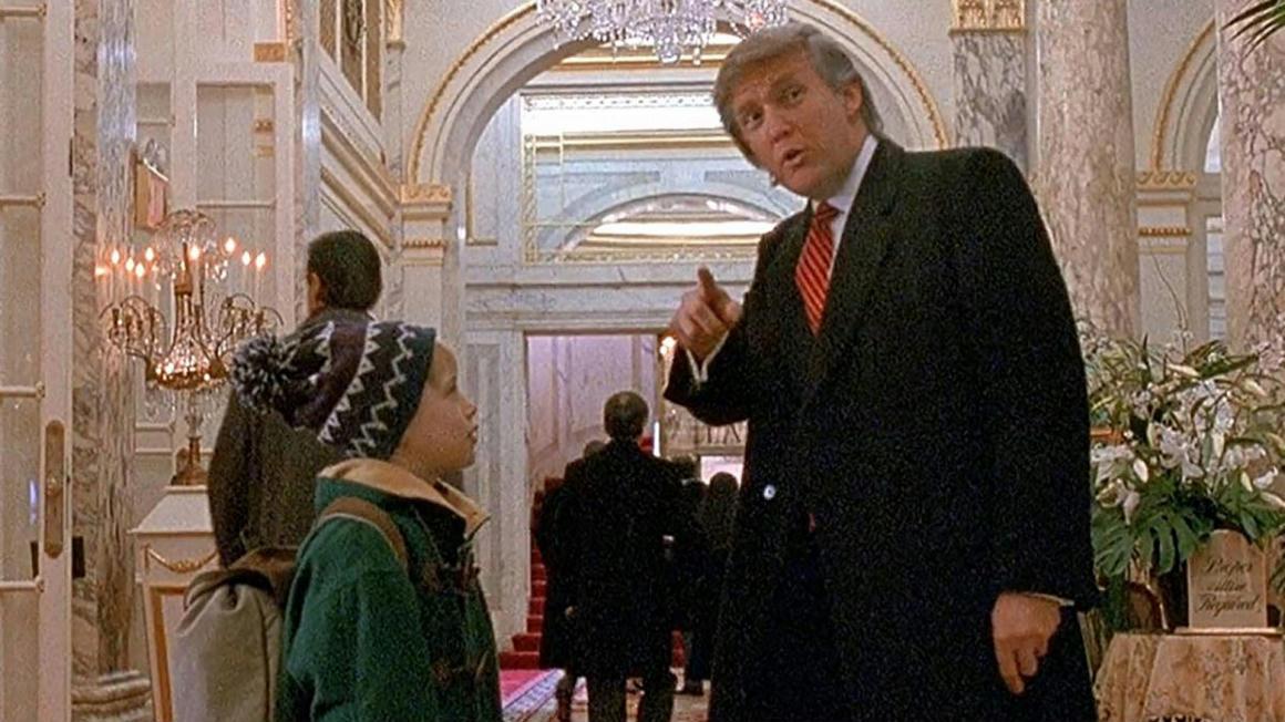 Macaulay Culkin is kivágatná Trumpot a Reszkessetek, betörők! 2-ből