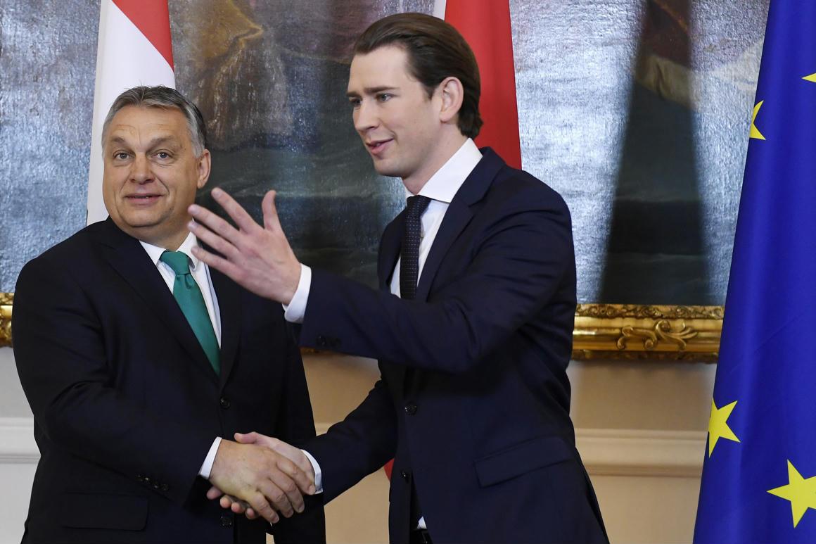 Az osztrák kancellár szerint nem igaz, hogy Soros György bevándorlókkal  akarná elárasztani Európát