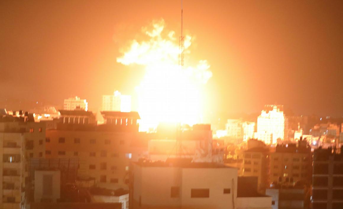 Vasárnap haltak meg eddig a legtöbben a gázai konfliktusban – 444