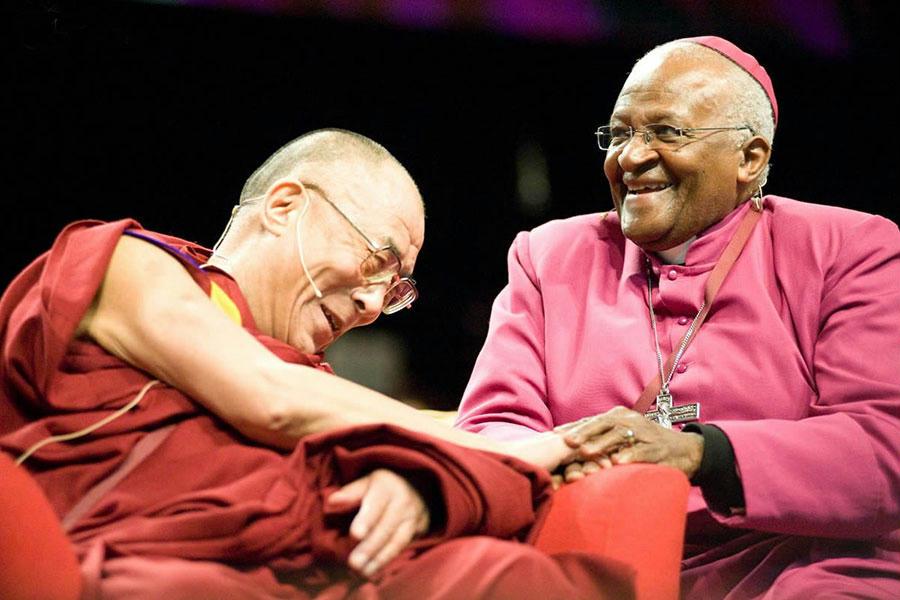 A dalai láma és Tutu érsek