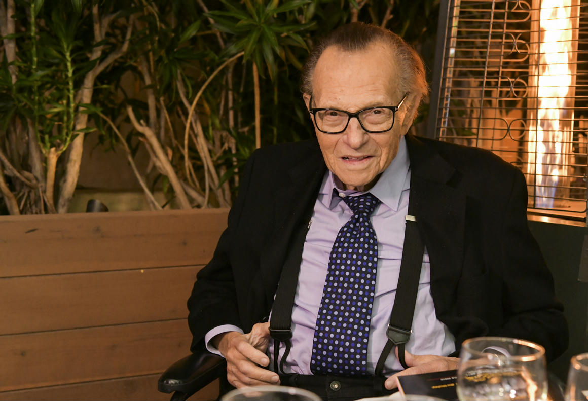 Meghalt Larry King