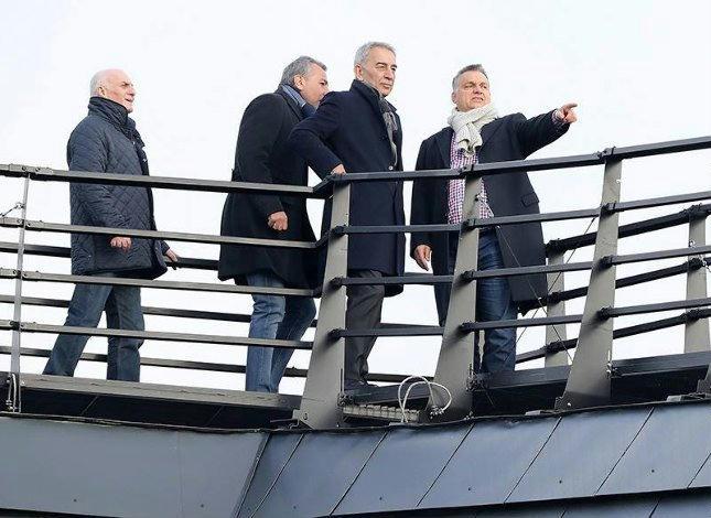 Polat és Orbán Felcsúton