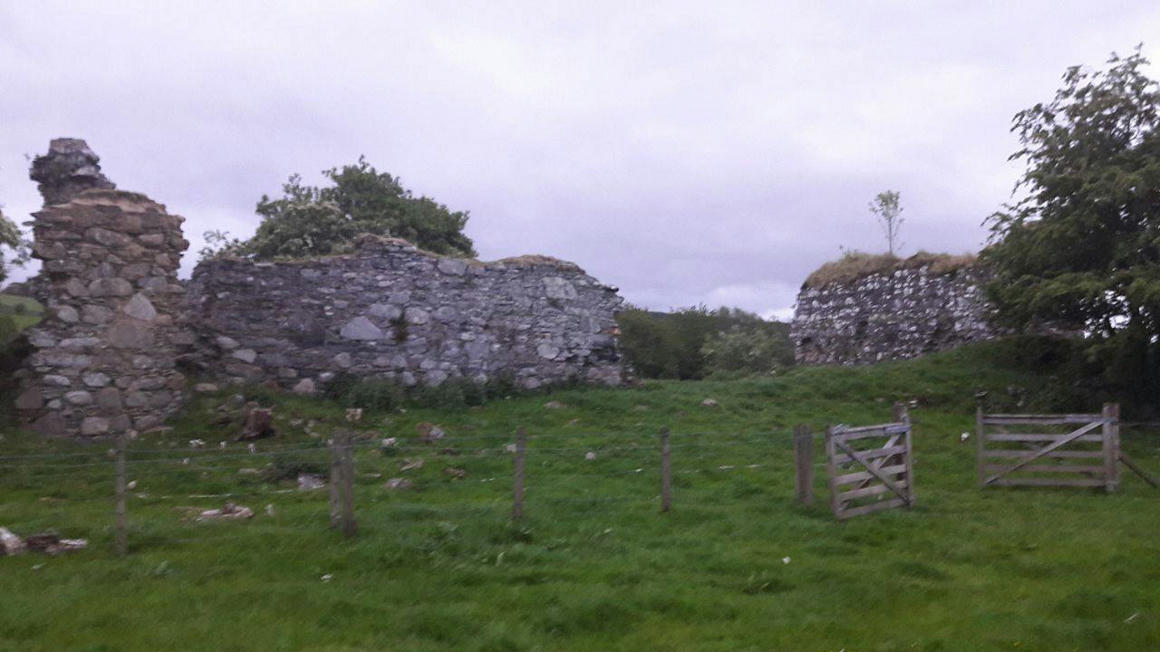 A fekete vár romjai