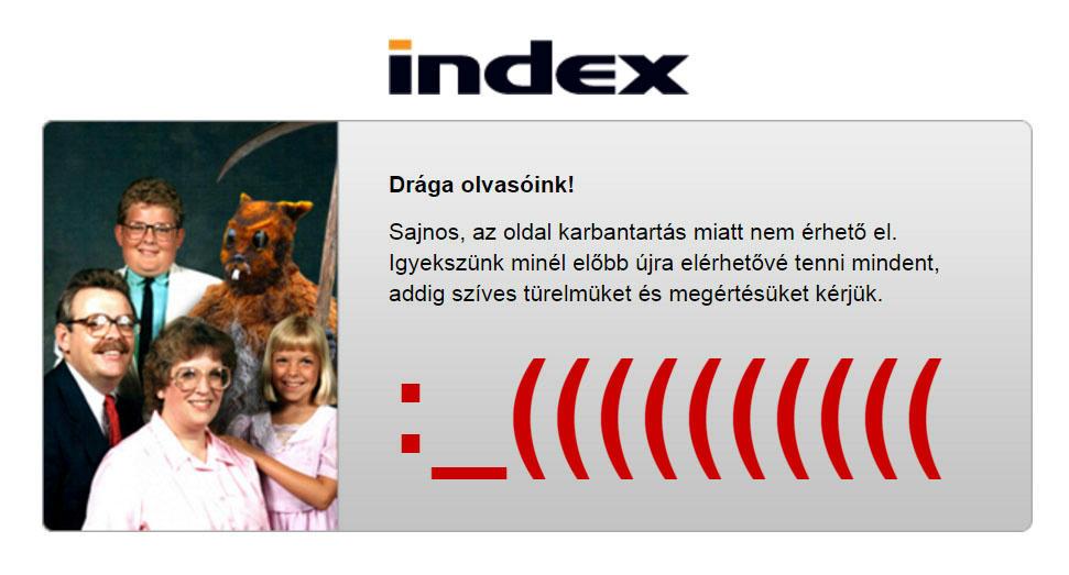 Társkereső oldal index