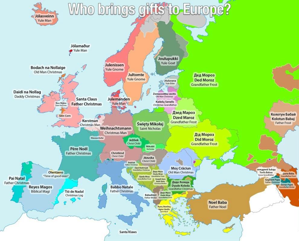 európa térkép 11 csodálatos térkép Európáról   444
