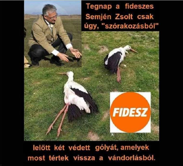 Első látásra is kamu képpel próbálták gólyagyilkosnak beállítani Semjén Zsoltot, mire Bayer Zsolt fizikailag is ráuszította a híveit a képet megosztó nőre
