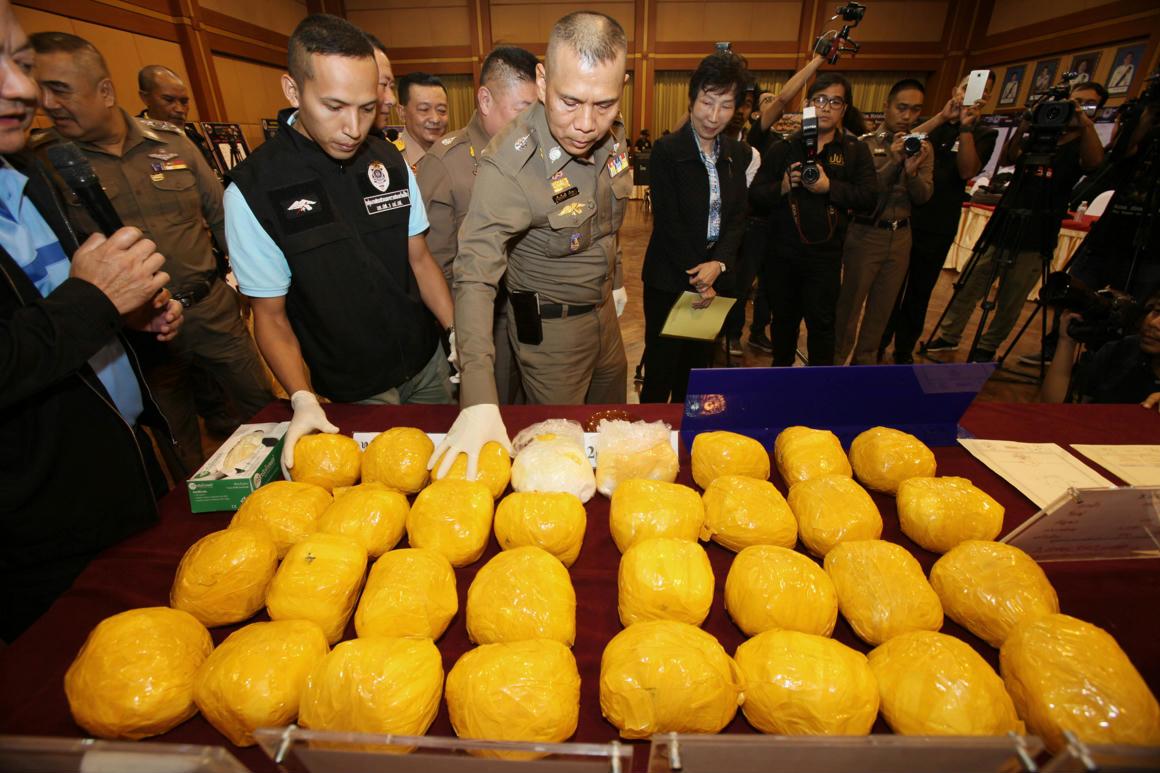 22 millió(!) tabletta metamfetamint foglalt le a thaiföldi rendőrség