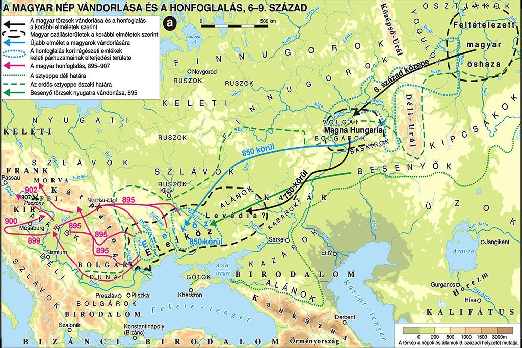 magyar őshaza térkép Megpróbáljuk nem elfelejteni, hogy honnan jöttünk   Science Meetup