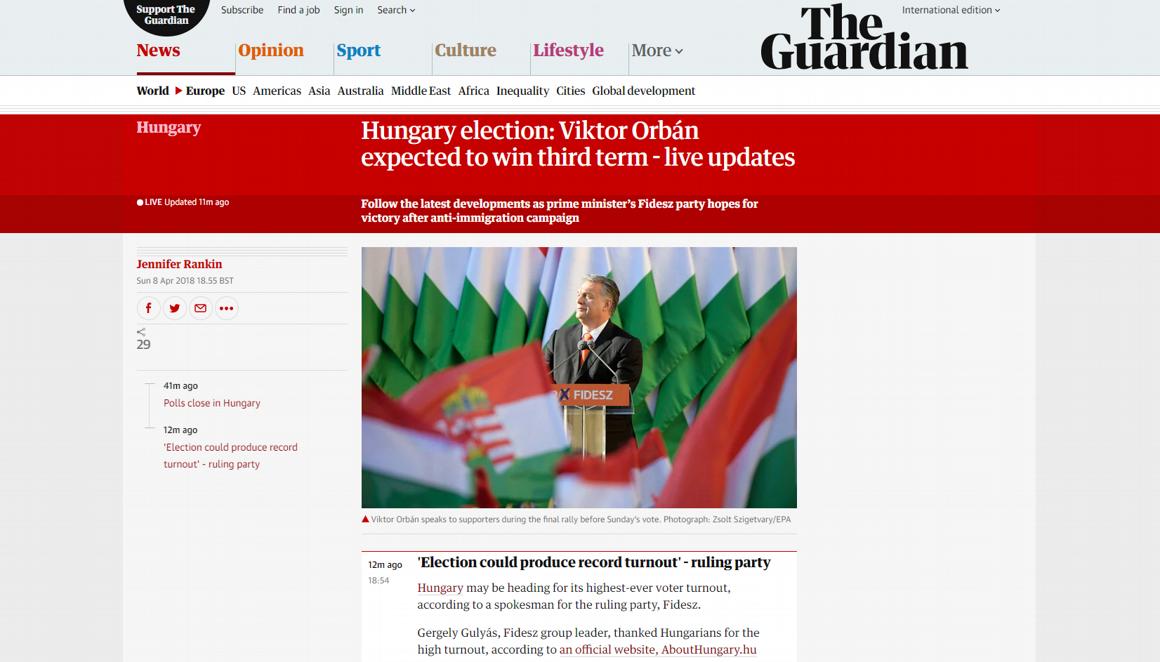 9c7c2af750 Vezető brit lapot ennél jobban talán 1990 óta nem érdekelte az új magyar  parlament összetétele.