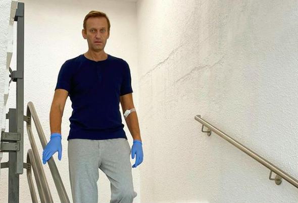 Navalnij már lépcsőzik