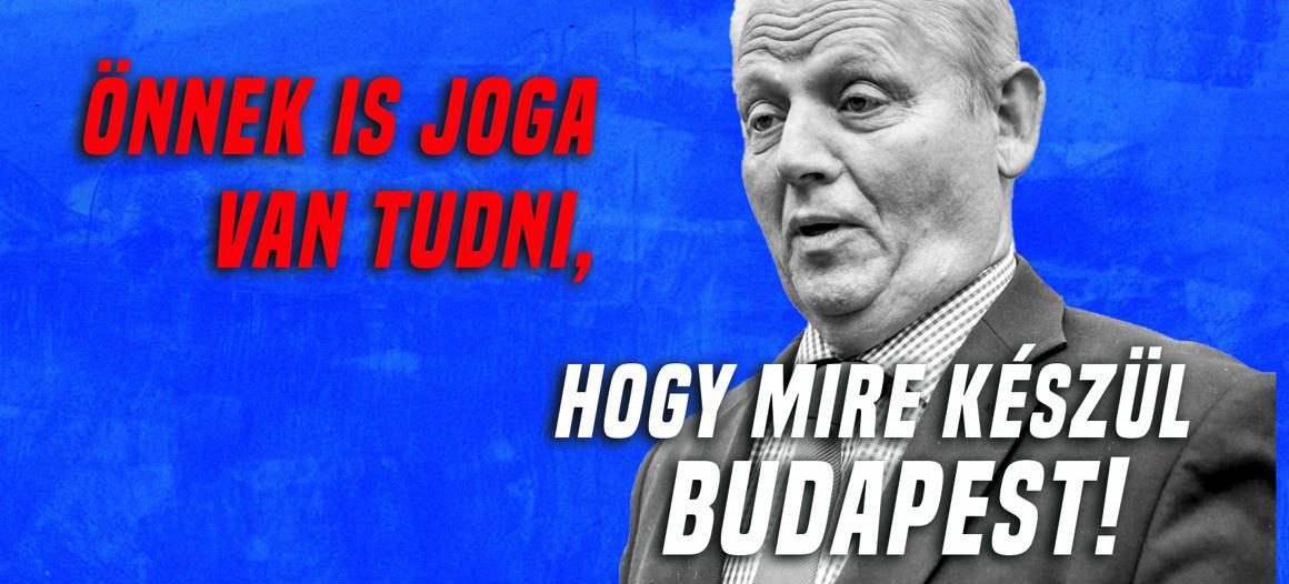 d2bb06ab9b Brutális lyuk tátong Budapest költségvetésén: 66,7 milliárd forint hitelt  vesz el a főváros - 444