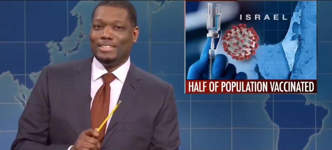 A Saturday Night Live izraeli oltásokról szóló vicce többek szerint antiszemita volt