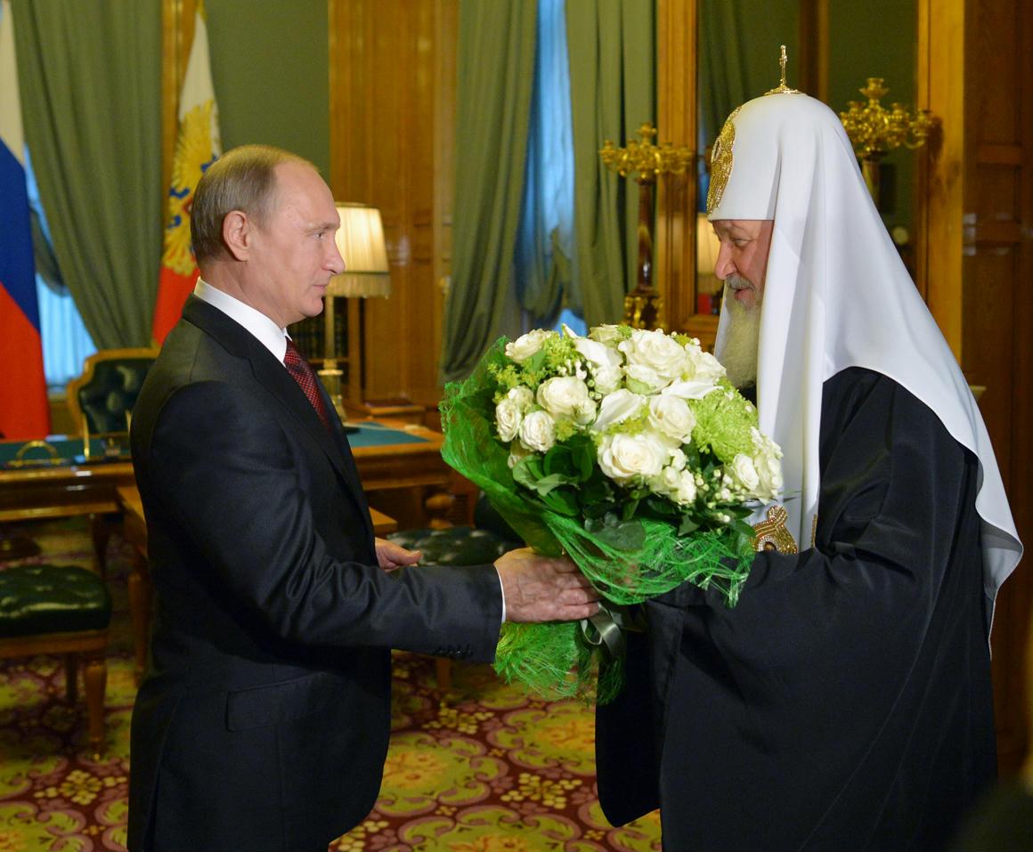 Путин поздравил Кирилла с днем рождения фото