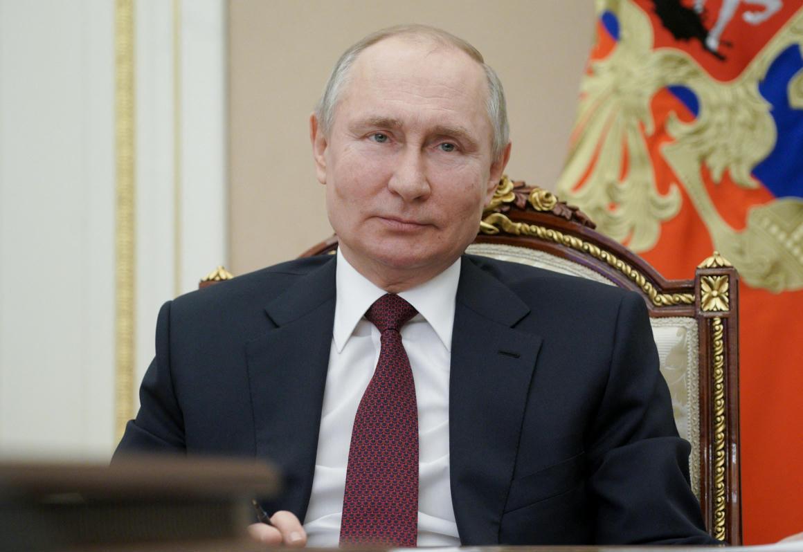 Putyin látása. Keresés űrlap