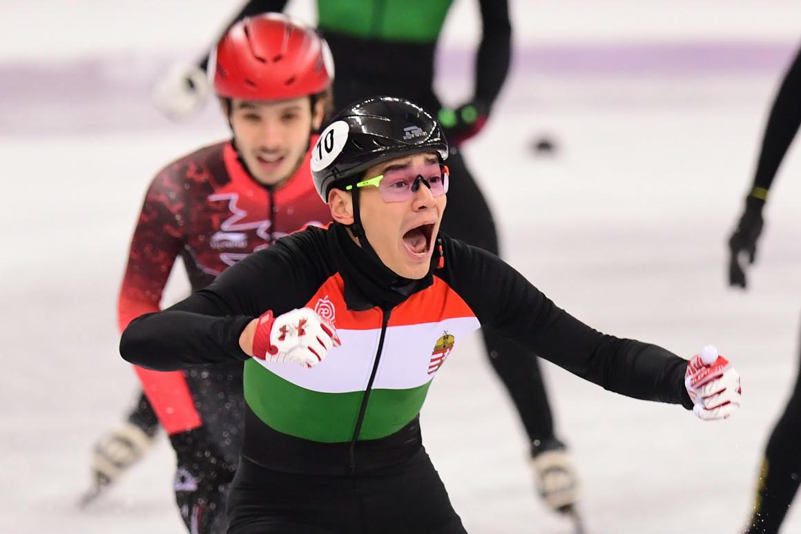 Friss hírek: A magyar rövid pályás gyorskorcsolya történelmet írt, soha nem nyertünk még aranyat téli olimpián.