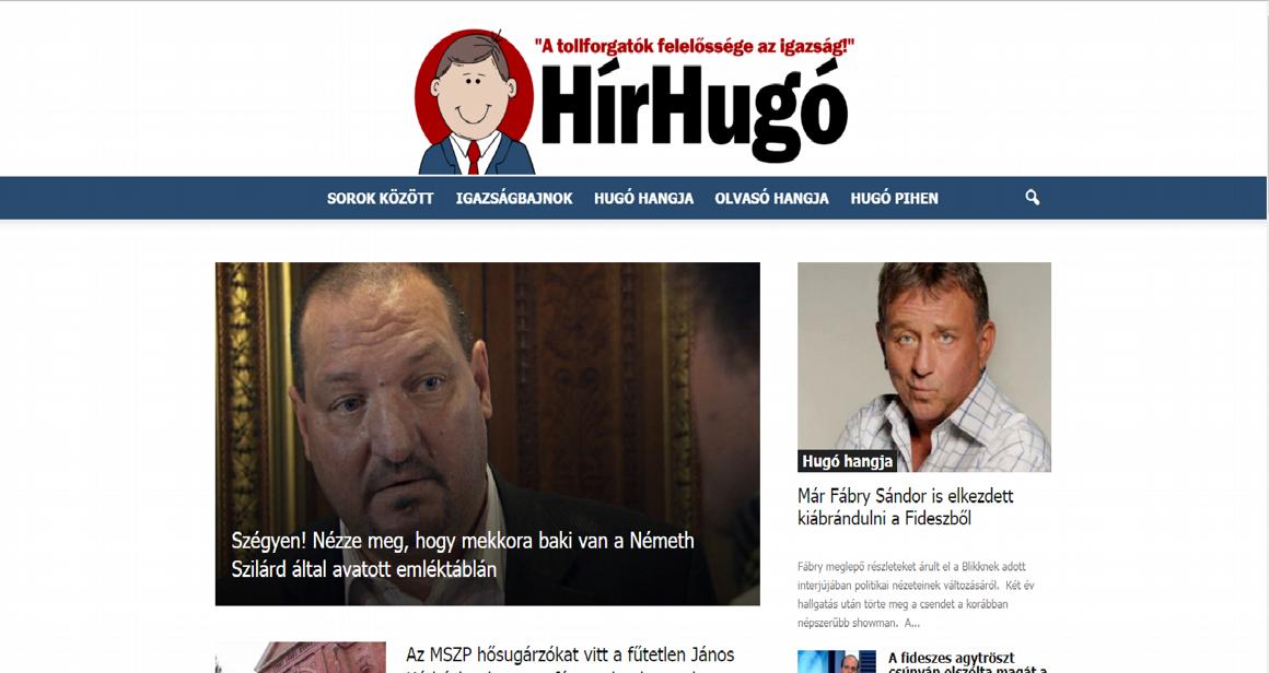 Az MSZP titkos fegyvere egy weboldal  halálos röhögtetéssel csinálja ki a  Fideszt és az olvasót a Hír Hugó cc178c9e46
