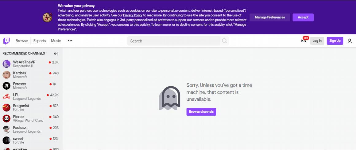 Kitiltották Trumpot a Twitchről