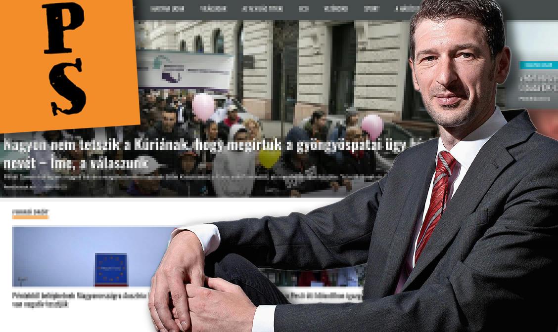 Szakács Árpád két éve nem frissülő portáljának és a Pesti Srácoknak is 50 millió forint adott a kormány